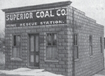 Superior Coal C. Mine Rescue Satation